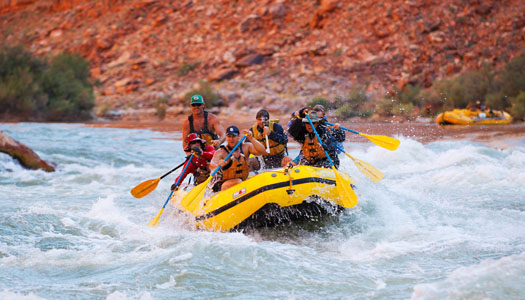 Grand Canyon White Water Rafting Information