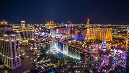 Grand Celebration with Las Vegas Strip