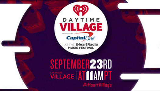 Daytime Village at the iHeartRadio Music Festival