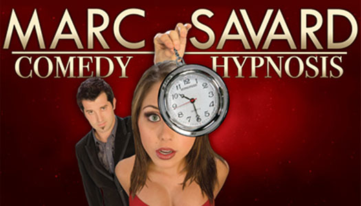 Marc Savard Comedy Hypnosis