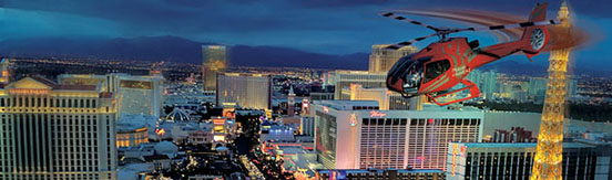 Helicopter - Grand Celebration with Las Vegas Strip